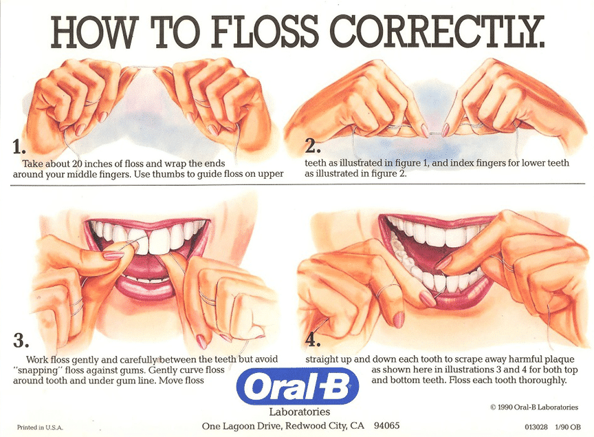 I can't say it enough times: Keep flossing